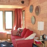 Renovation : carpentry in a chalet in Sainte Foy Tarentaise