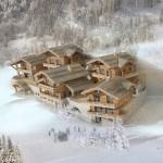 STE FOY CONSTRUCTION construit et propose à la vente des chalets neufs situés aux Hauts du Monal à Ste Foy Tarentaise en Savoie dans les Alpes